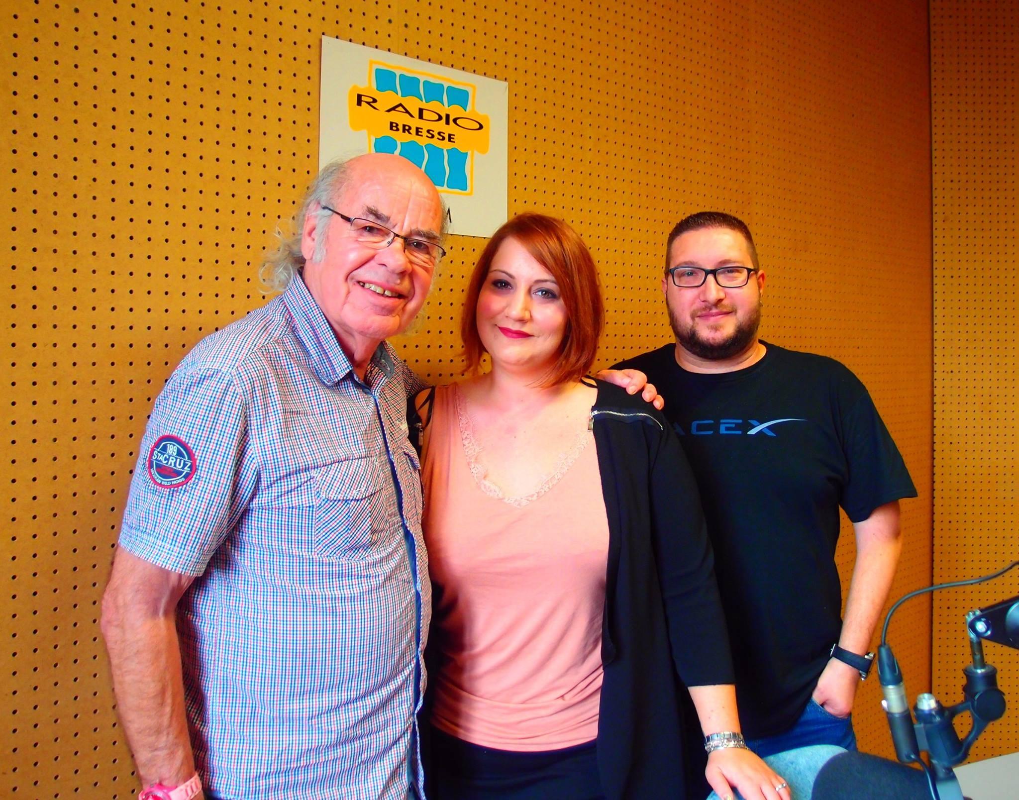 L'accordéoniste Gilou et la chanteuse Grâce Jourdier invités dans la matinale