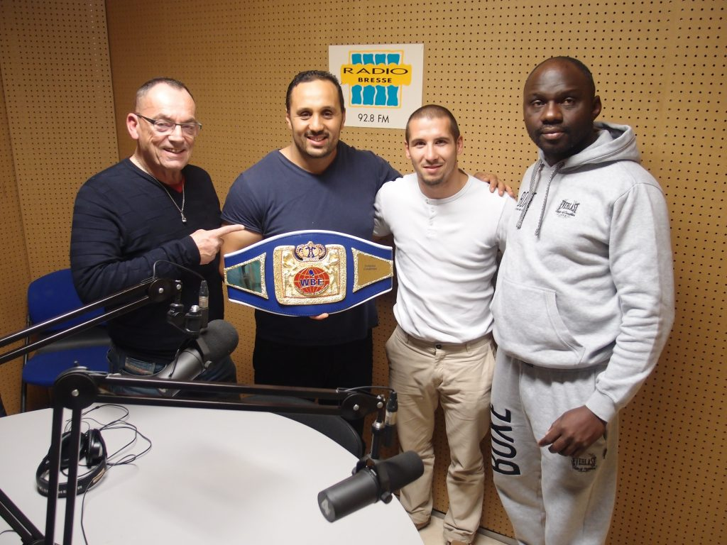 Mickael Lacombe - Champion du WBF Europe / Asie  - Punch Hebdo