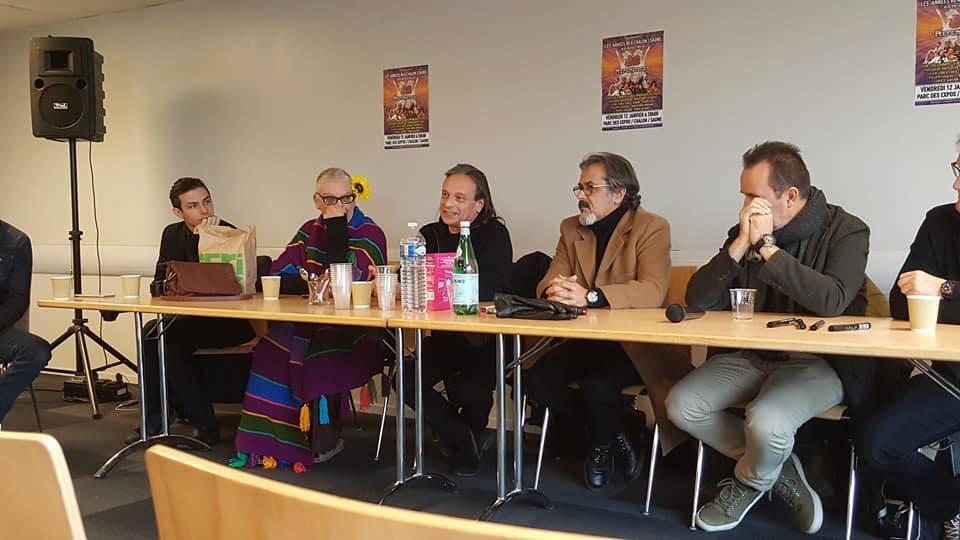"""Conférence de presse """"Les années 80"""" - Décembre 2017"""