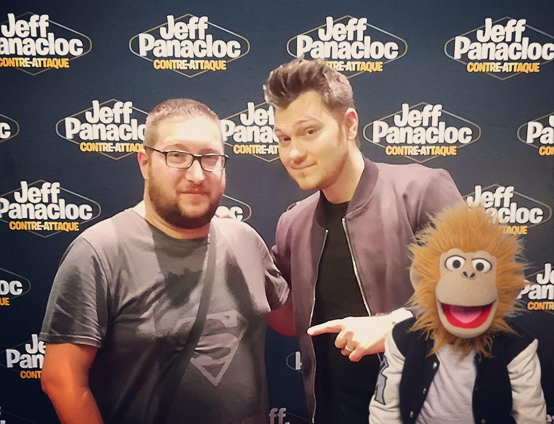 Jeff Panacloc et Jean-Marc - Mai 2018