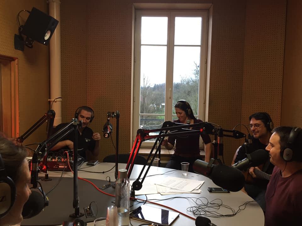 """Radio Ziko Thérapie avec le groupe """"Rue des Granges"""""""
