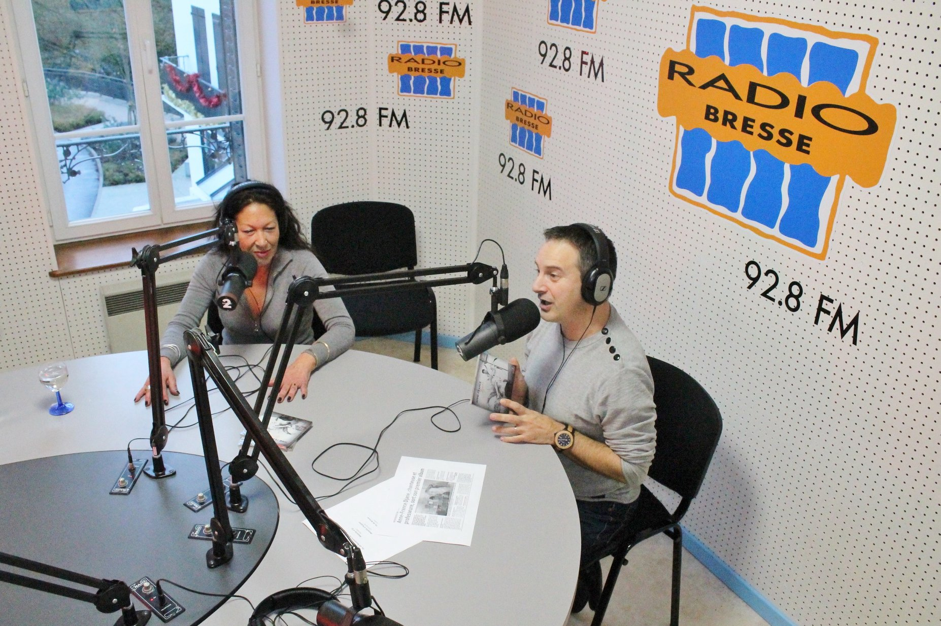 Anne-France Djane invitée de Radio Ziko Thérapie