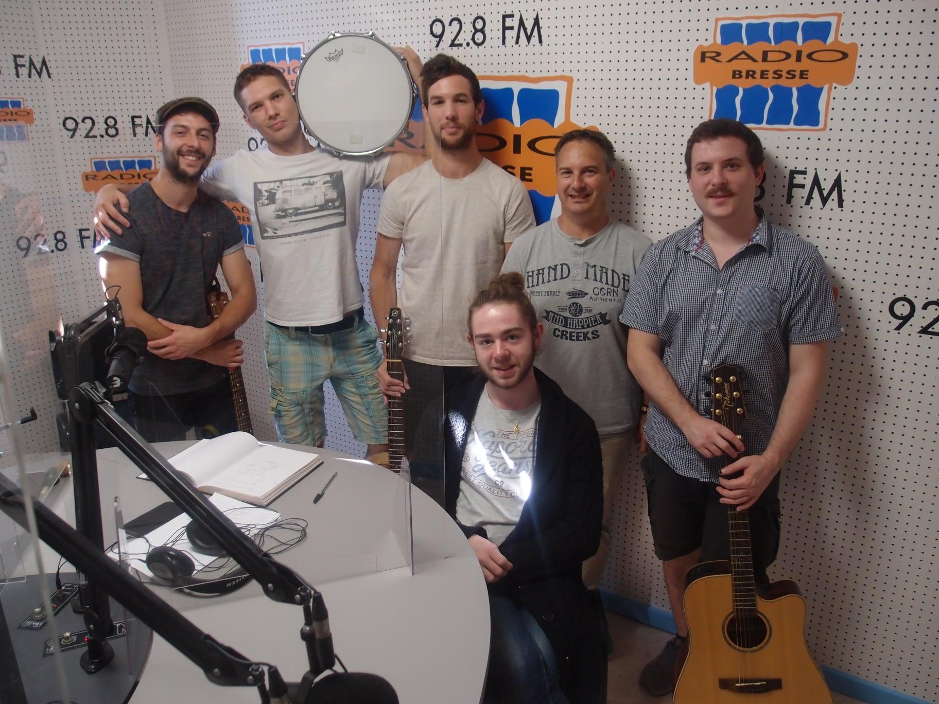 "Le groupe ""Gamin"" dans Radio Ziko Thérapie"