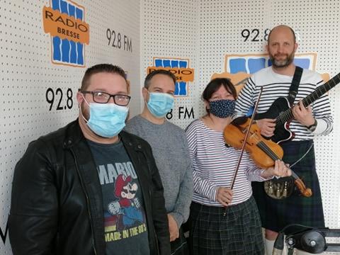 """Ailsa Craig"" dans Radio Ziko Thérapie"